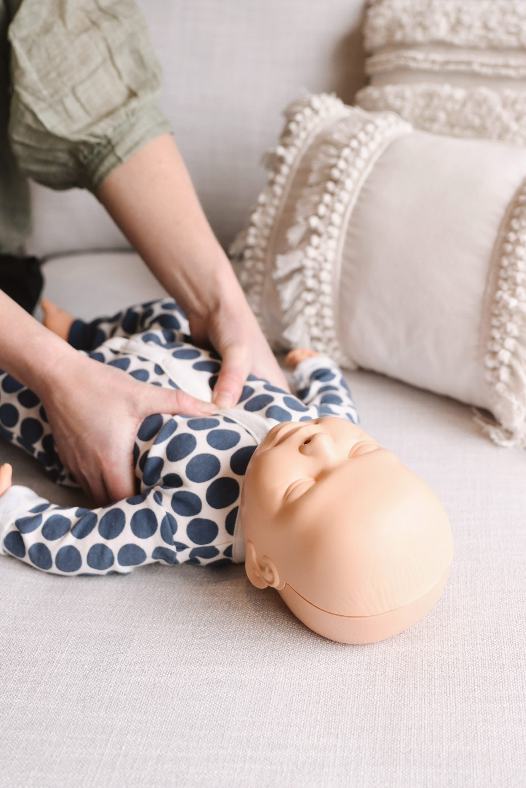 Online Infant + Child First Aid course